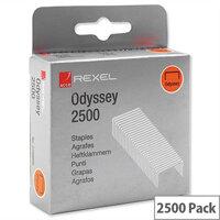 Rexel Odyssey Multipurpose Staples 9mm Pack 2500