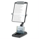 Fellowes Freestanding Copyholder Heavy Base Multipositional Landscape and Portrait 3 Joints Graphite 9169801