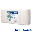 Kleenex White Ultra Hand Towel 124 Sheets Pack of 5 (620 Towels) 7979