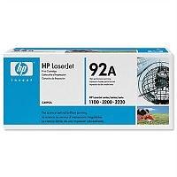 HP 92A Black LaserJet Toner Cartridge C4092A