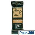 Fairtrade Coffee Biscuits Caramelised Individually Wrapped Pack 300