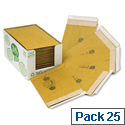 Jiffy Green Padded Envelopes Recycled No.1 165x280mm (Pack of 25)