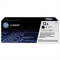 HP 12A Black Toner Cartridge Q2612A