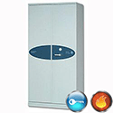 Phoenix Firechief Security Cupboard Fire Resistant 580 Litre Capacity 192kg W930xD525x1885mm 1612