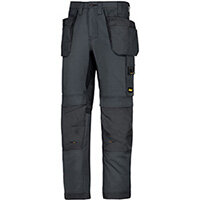 """Snickers 6201 AllroundWork Holster Pockets Trousers Steel Grey W30"""" L30"""" Size 88 WW1"""