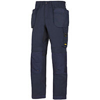 """Snickers 6201 AllroundWork Holster Pockets Trousers Navy W30"""" L30"""" Size 88 WW1"""