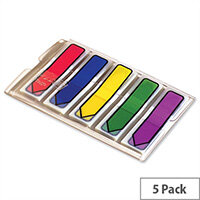 Post-it Small Index Arrows Portable Pack Standard Colours Assorted Pack 100