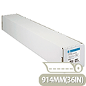 HP C6020B White Coated Inkjet Plotter Paper 914mm x 45.7m 90gsm