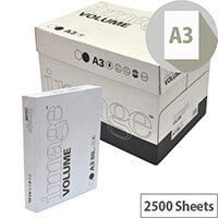 Image Volume Office Paper White A3 420x297mm 80gm2 Packed 5 X 500