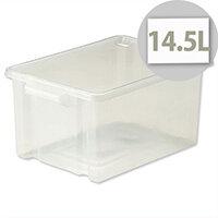 Strata Storemaster  Midi Crate Translucent 14.5 Litres
