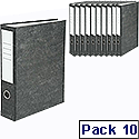 Uno Lever Arch File Foolscap Ref 26815 [Pack 10]