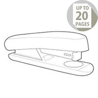 White Box Stapler Half Strip Black