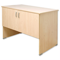 Post Room Table with Cupboard Maple Tercel