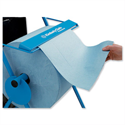Industrial Towel Cleaning Roll Blue 2 Ply 312mm x 350m