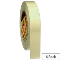Scotch Double Sided Tape 25mm x 33m Pack 6