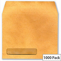 Payslip Wage Envelopes Communisis Sage Compatible Window Manilla Pack 1000