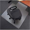 Carpet Protection Chair Mat Traditional PVC 1143x1346mm 5 Star