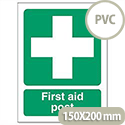 First-Aid Post Sign PVC SP051PVC