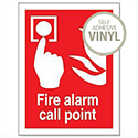 Fire Alarm Call Point Self Adhesive Sign Stewart Superior