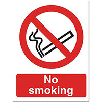 Stewart Superior No Smoking Self Adhesive Sign Ref P089PVC