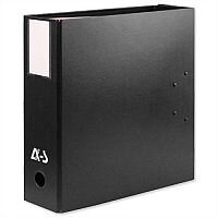 Arianex Black Double A4 Lever Arch File