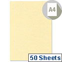 A4 165gsm Champagne Letterhead Premium Paper 50 Sheets DECAdry