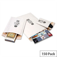 Jiffy No 000 Mailmiser Envelopes White 90 x 145mm JMM-WH-000 Pack 150