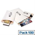 Jiffy No 0 Mailmiser Envelopes White 140 x 195 mm (Pack 100)