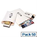Jiffy No 5 Mailmiser Envelopes White 260 x 345 mm (Pack of 50)