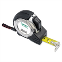 Linex Measuring Tape Steel-cased Polyester-coated Metric and Imperial with Belt Clip 8m Ref LXEPMT8000 701804