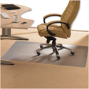 Chair Mat PVC for Low Pile 2.5mm Carpet 1210x1520mm Cleartex
