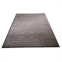 Mat on Roll Polypropylene Anti-slip Plush Pile 900x3000mm Grey Doortex