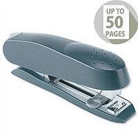 Rapesco Stapler Spinna 717 Metal Paper Guide Capacity 50 Sheets Grey