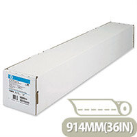HP Bright White Inkjet Plotter Paper 90gsm 914mm x 91m