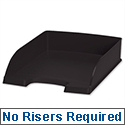 Plus Letter Tray High Sided Black