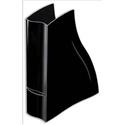 CEP Isis Magazine File with Finger Grip Robust Elegant Moulded Polystyrene A4 Black Ref 2136901