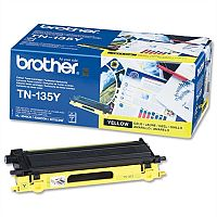 Brother TN-135Y Yellow High Capacity Toner Cartridge TN135Y