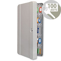 Helix Standard Key Cabinet 100 Key Capacity Key Safe Cabinet