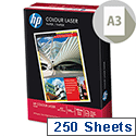 HP Hewlett Packard A3 120gsm White Laser Printer Paper 250 Sheets HCL1030