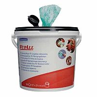Wypall Kimtuf Hand Cleaning Wipes Bucket Pack 1 (Contains 90 Wipes) Ref 7775