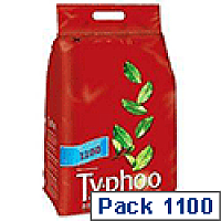 Typhoo Original Blend Tea Bags Vacuum Packed One Cup Pack 1100
