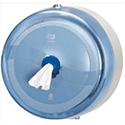 Tork SmartOne Dispenser Wall-mounted for Toilet Tissue Fully-enclosing Blue Ref 2940201 748845