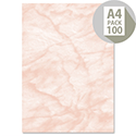 Computer Craft A4 Rose Marble Certificate Papers 90gsm 100 Sheets