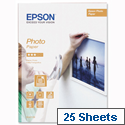Epson C13S042159 Photo Paper A4 Glossy 190gsm 25 Sheets