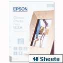 Epson S042156 Photo Paper Glossy 130x180mm 40 Sheets