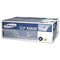Genuine Samsung CLP-K660B High Yield Black Laser Toner