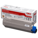 OKI 43865708 Black Toner Cartridge