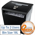 Fellowes P-48C Personal Shredder Cross-Cut DIN3