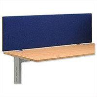 Trexus Over Desk Screen 1400x450mm Royal Ref SP809337 809337