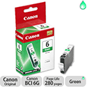 Canon BCI 6G Green Ink Cartridge
